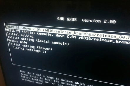 Sony PS4 developer bootloader