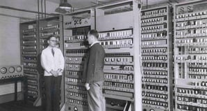 Sir Maurice Wilkes photo Computer Laboratory University of Cambridge