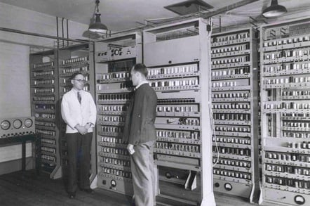 Sir Maurice Wilkes photo Computer Laboratory University of Cambridge