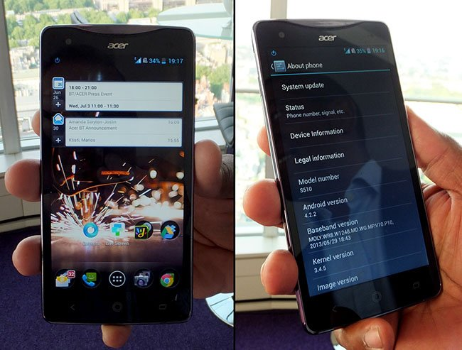 Acer Liquid S1 phablet Android smartphone