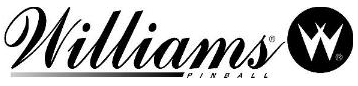 The Williams logo, which is remarkably similar as you'd know if you could see them both