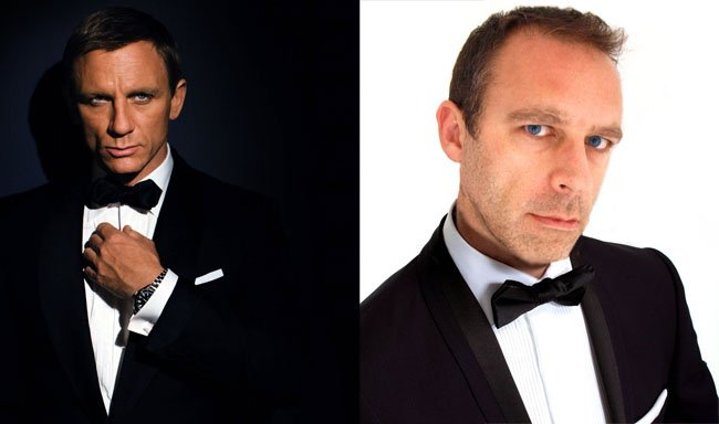 Daniel Craig and Dabbsy