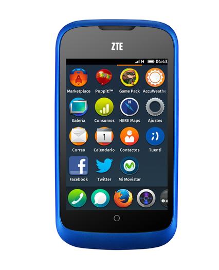 Telefonica's ZTE Firefox OS handset