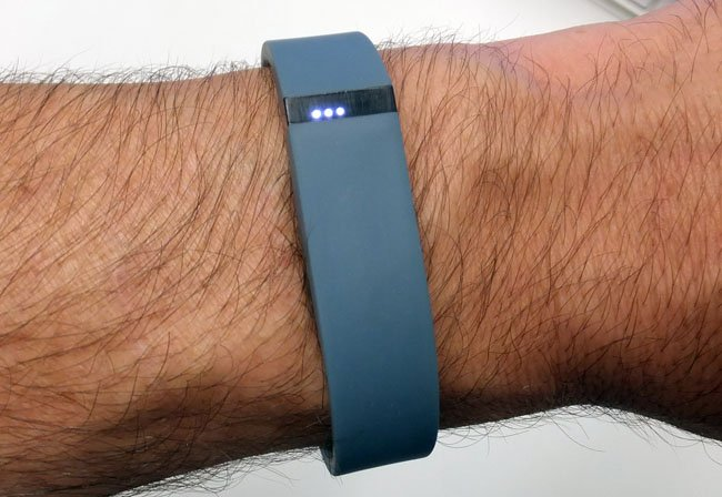 Fitbit Flex exertion monitor