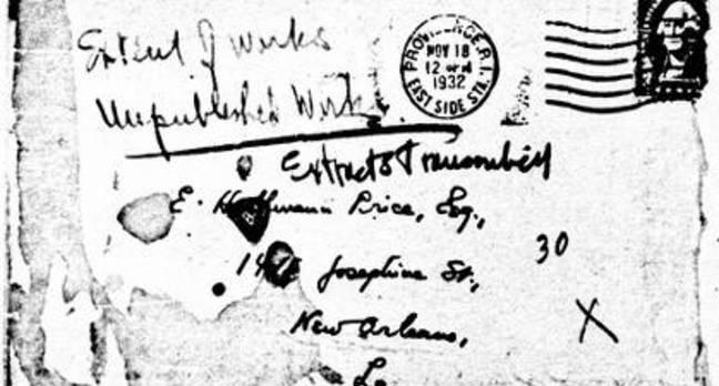 Old US letter