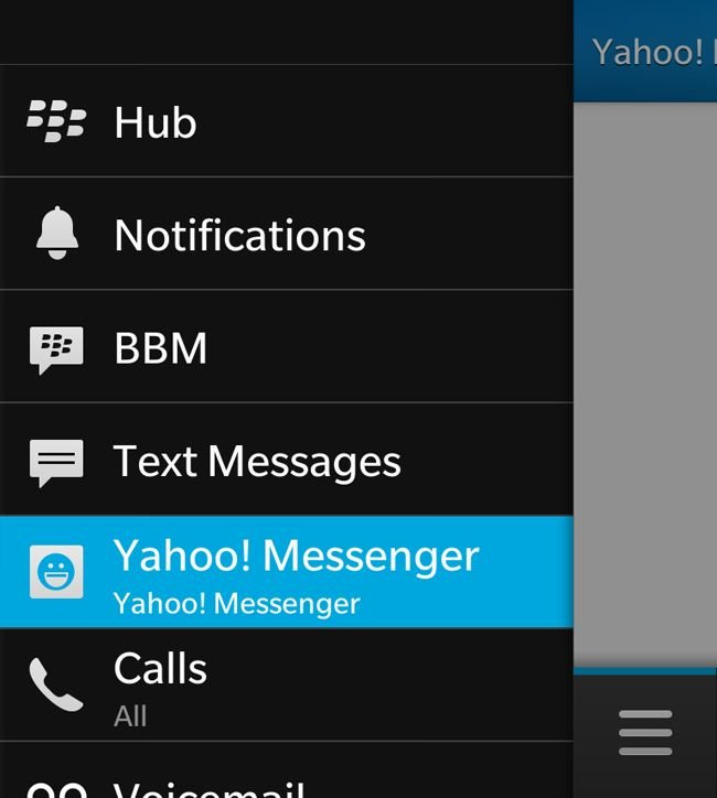 BlackBerry 10 Hub