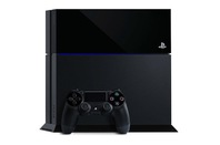 PS4 with controllers