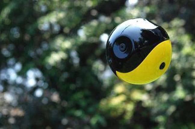 The Squito camera ball