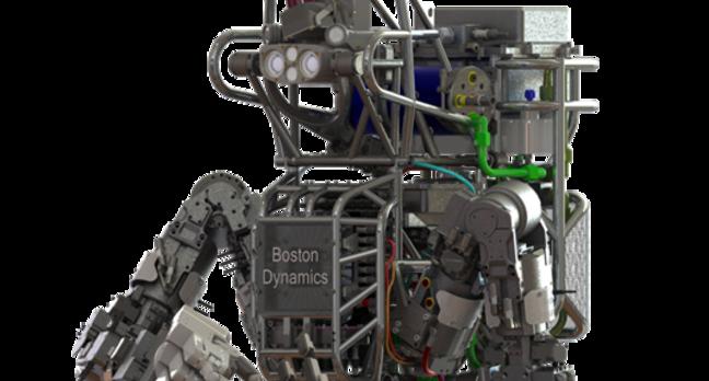 ATLAS robot from Boston Dynamics