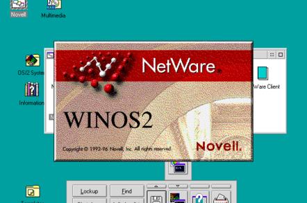 ciri ciri sistem operasi jaringan Novell Netware
