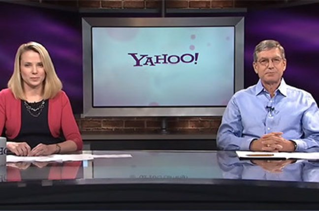 Yahoo! CEO Marissa Mayer and CFO Ken Goldman