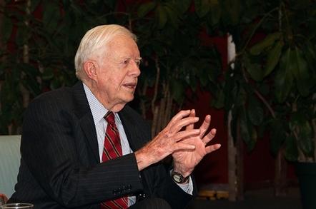 Former Presidnet Jimmy Carter