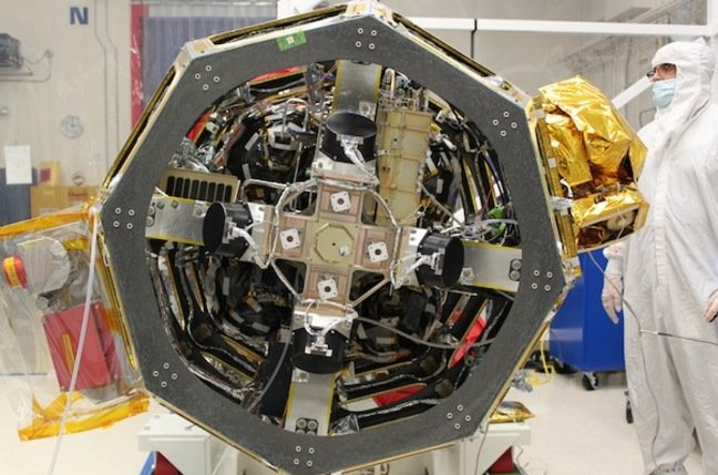 NASA's LLCD laser comms experiment