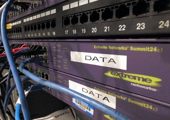 Network patchbay ports