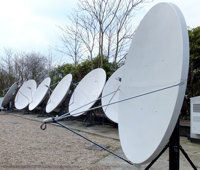 Virgin Media dish array