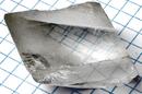 Calcite crystal birefringence