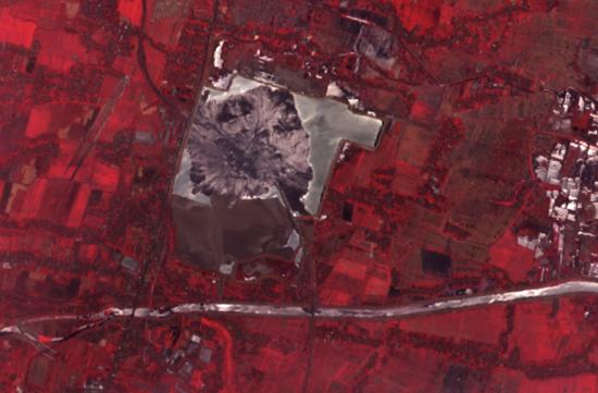 Indonesia's Mudcano. Credit: NASA Earth Observatory