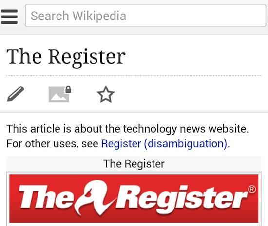 Wikipedia's new mobile editor