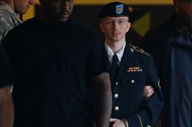 Bradley Manning in court