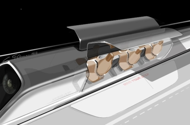 Hyperloop car