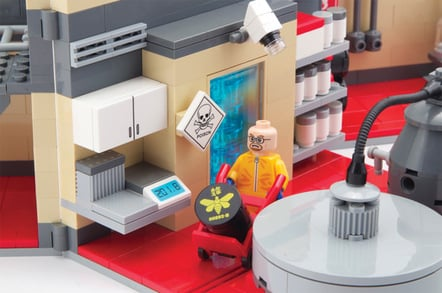 A detail of the Breaking Bad lab
