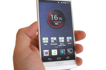 Huawei Ascend P6: Skinny smartphone that's not just bare