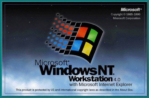 Microsoft Windows NT 4.0 Operating System Full Version