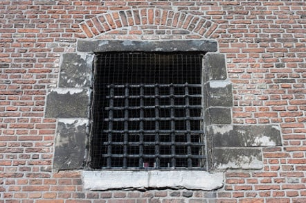 Prison window