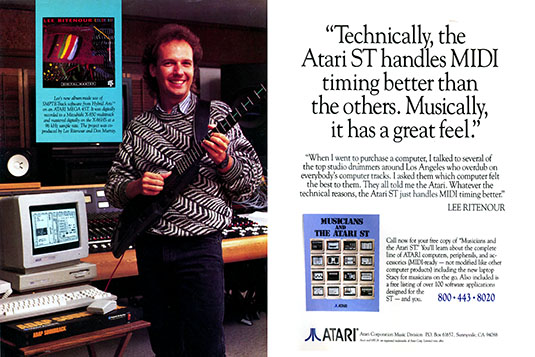 Atari MIDI sequencer