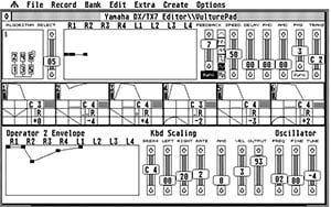 BeamTeam MIDI editor for Atari