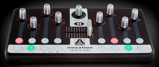 Novation Nocturn MIDI controller for plug-ins