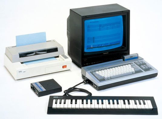 Yamaha YIS-503 based around the MSX PC