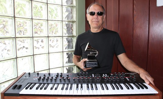 Dave Smith with his Technical Grammy Award 2013