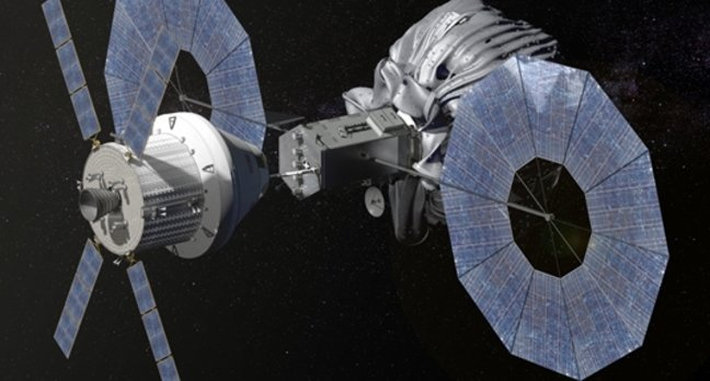 Orion asteroid capture mission