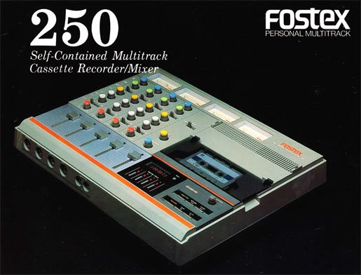 Fostex 250 multitrack cassette recorder