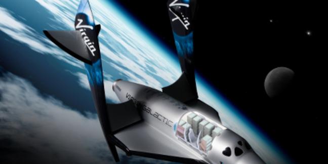 Artist's concept of Virgin Galactic SpaceShipTwo