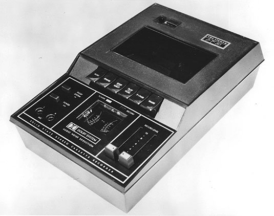 Fisher Compact Cassette recorder with Dolby B from 1970