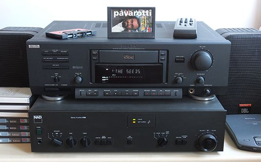 Philips DCC 900 digital compact cassette deck