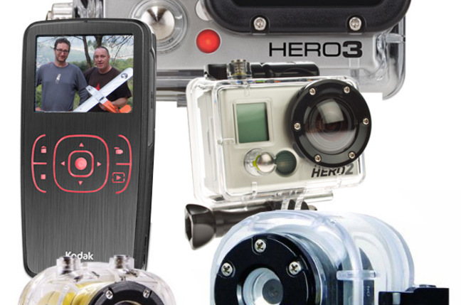 A montage of our LOHAN cameras