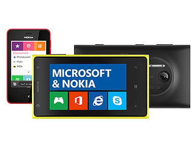 Microsoft Nokia logo
