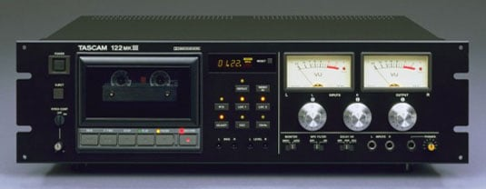 Tascam 122mkIII compact cassette deck