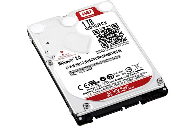 WD Red 2.5-inch 1TB HDD