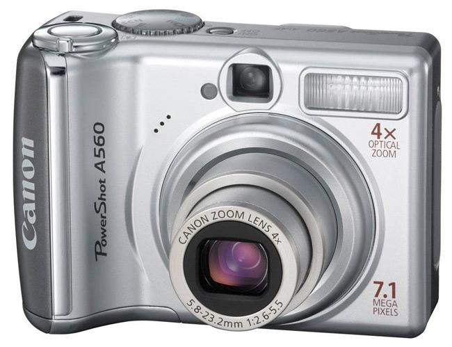 The Canon A560