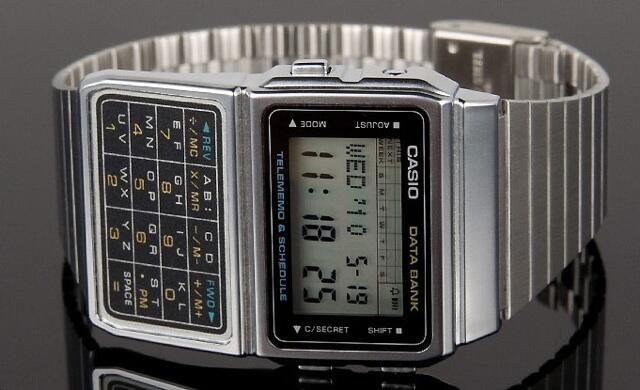 Casio Data Bank watch