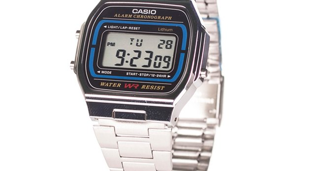 Casio retro watch