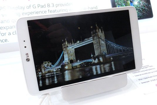 LG G Pad 8.3 Android tablet