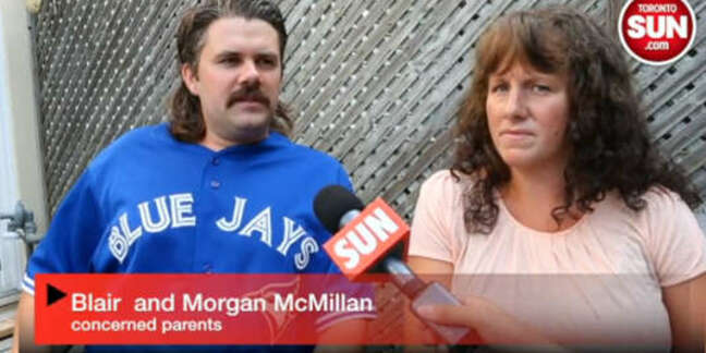 Photo of Blair McMillan and Morgan Patey of Guelph, Canada