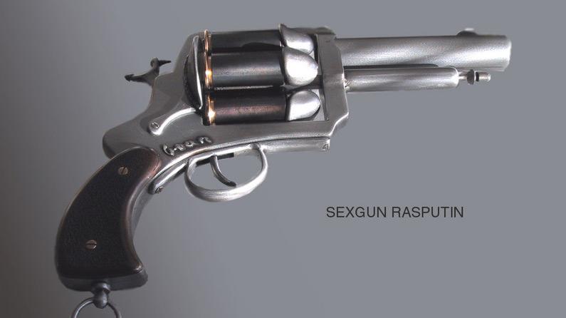 The offending penis-shooting pistol. Pic: Konstkvarteret