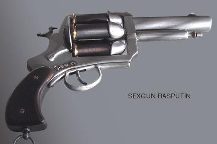 The offending penis-shotting pistol. Pic: Konstkvarteret