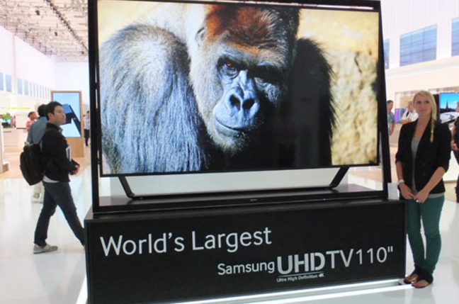 Samsung S9 110in UHD TV